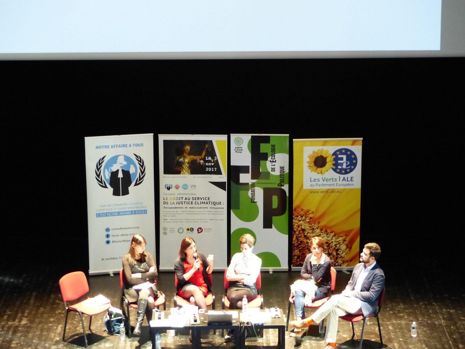 Table ronde n°3 : Des propositions nouvelles pour la justice environnementale et climatique