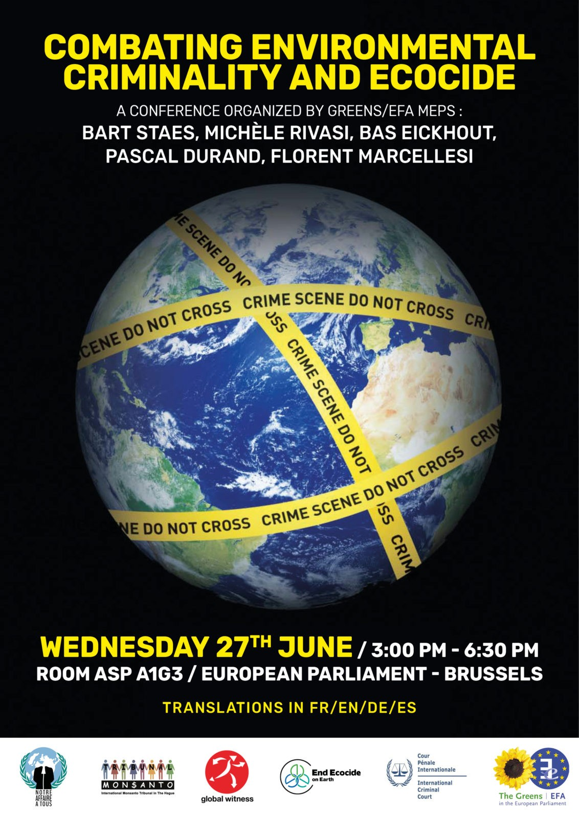 POSTER CONFERENCE ECOCIDE